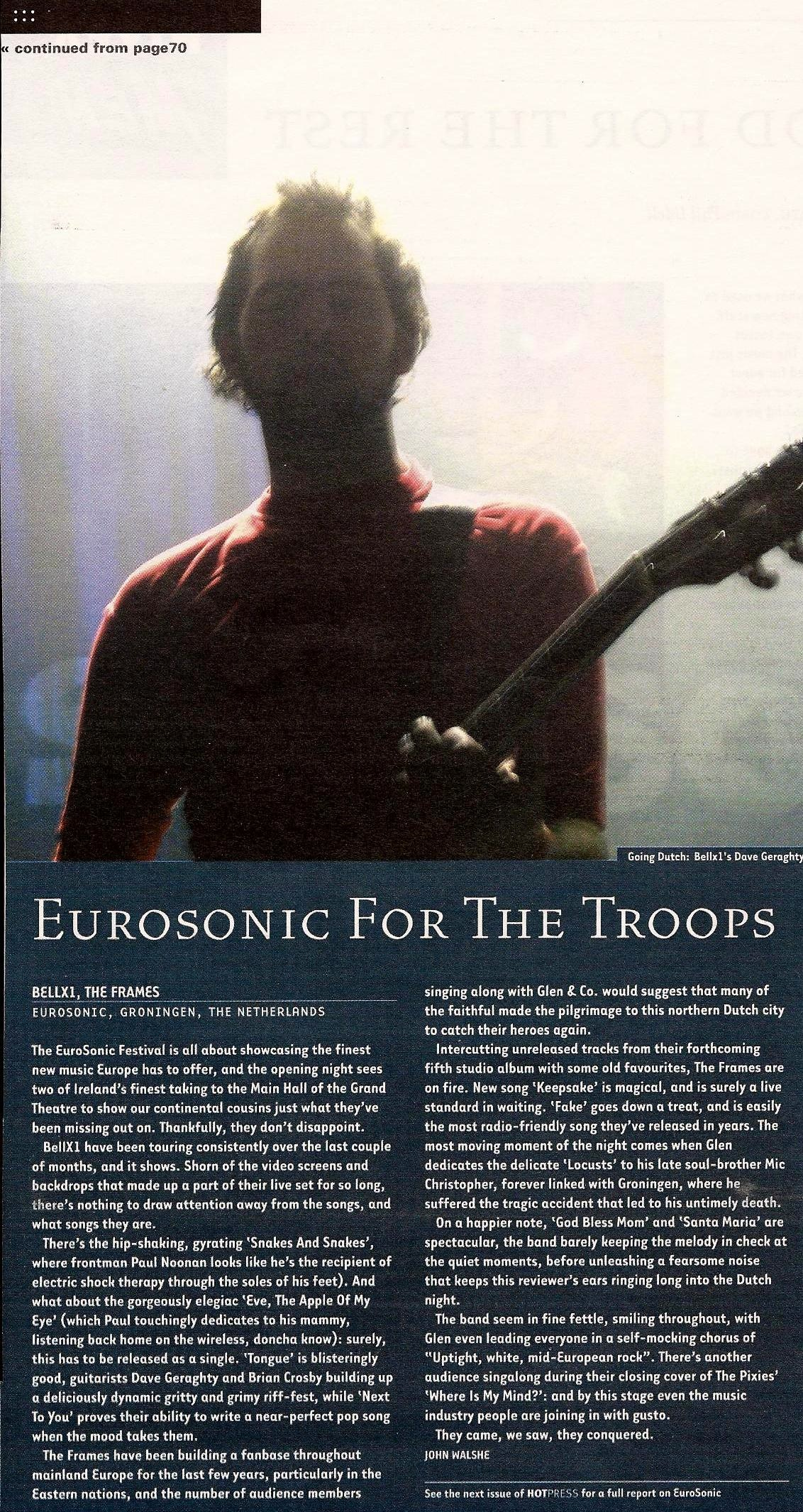 Eurosonic-Review-2004